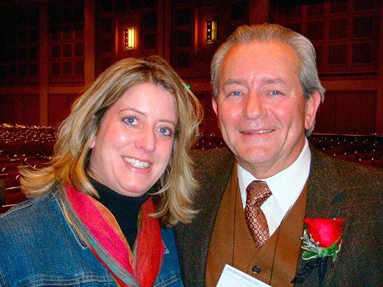 Steve Boehlke and Sarah Boehlke Gilbertson
