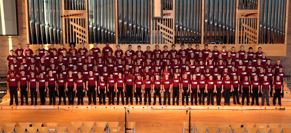 State 7-8 Boys' Honor Choir Clint Pianalto, guest conductor Chris Larson and Michael Skaar, co-chairs 229 auditions; 145 selected