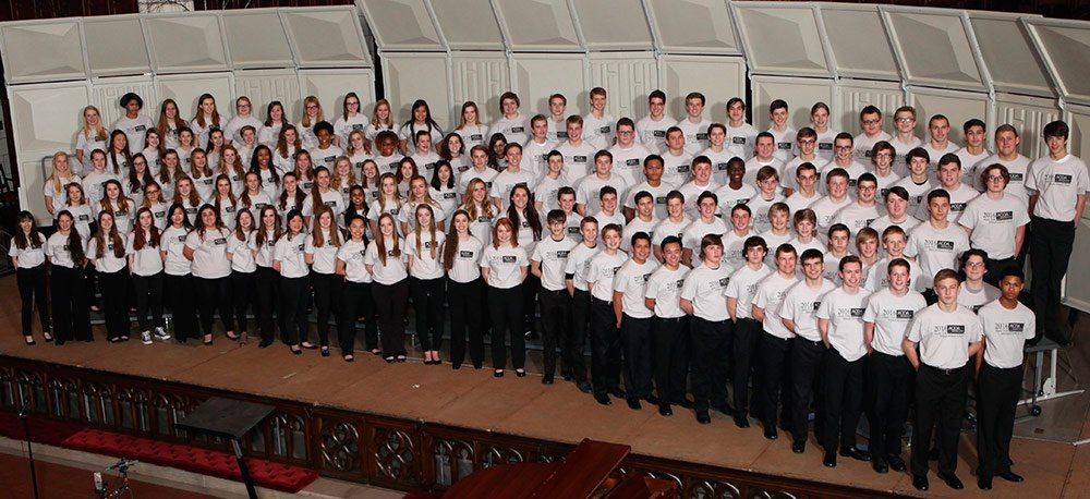 State 9-10 Mixed Honor Choir Gene Peterson, guest conductor Kyle Eastman and Sarah Gilbertson, co-chairs 946 mixed auditions; Mixed 132 selected