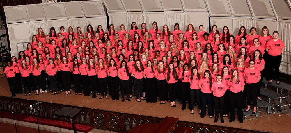 State 9-10 Women's Honor Choir Stephanie Trump, guest conductor Jami Lercher and Laura Odden, co-chairs 946 auditions; Women-131 selected; Mixed 132 selected