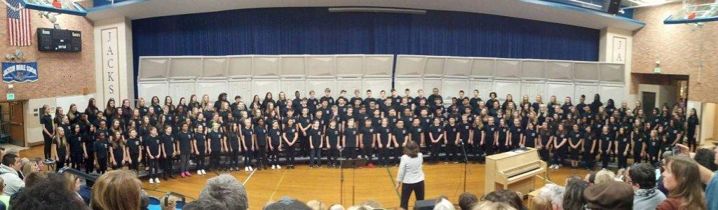 Jackson Middle School Choir